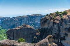 Meterora Valley. Amazing  valley from Meteora Greece Stock Photos