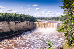 32 meters Alexandra Falls, Hay River Royalty Free Stock Photography