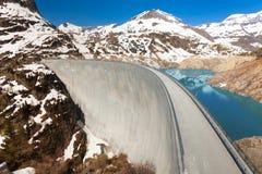 2000 meters boven overzeese dam Stock Foto