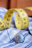 Meters by tailoring Royalty Free Stock Image