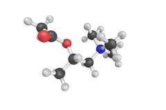 Methacholine, ένας συνθετικός εστέρας χολίνης που ενεργεί ως α μη -μη-selec στοκ εικόνα
