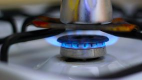 Methan gas ignition stove Royalty Free Stock Photos