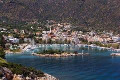 Methana Греция стоковые фотографии rf