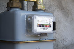 Methane gas meter Stock Photography