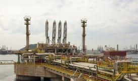 Methane landing Stock Image