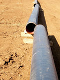 Methane pipe Stock Photos