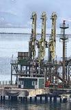 Methane pipeline Stock Image