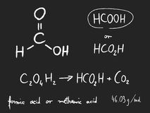 Methanoic acid Stock Photography