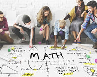 Methematics Math Algebra Calculus Numbers Concept Stock Image