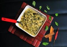 Methi malai paneer, Indian dish Stock Photography