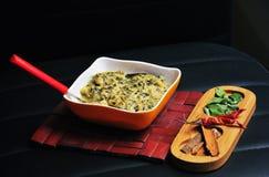 Methi malai paneer, Indian dish Royalty Free Stock Image