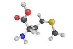 Methionine kan aan die ten goede komen die aan Parkinson, drug w lijden stock afbeelding
