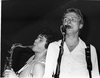 The Method. British pop group, perform live on stage in London on December 11, 1978 Royalty Free Stock Photo