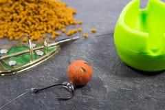 Method feeder -fishing tips for fishing. Royalty Free Stock Image