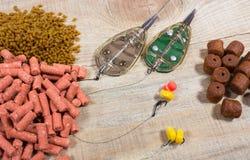 Method feeder -fishing tips for fishing. Royalty Free Stock Photo