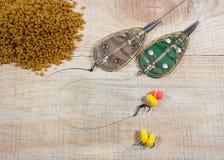 Method feeder -fishing tips for fishing. Stock Image