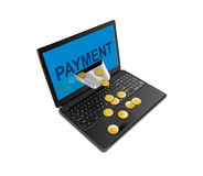 Method of payment in IT world Royalty Free Stock Photo