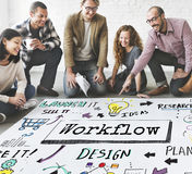 Method Strategy Business Workflow Progress Concept. Method Strategy Business Workflow Progress Royalty Free Stock Photos