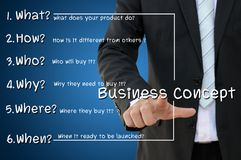 Method to create business concept Stock Images