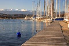 Methode auf dem Hafen Stockfoto