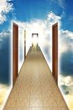 Methode zum Gott stockbild