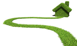 Methode zum grünen Haus Lizenzfreie Stockbilder