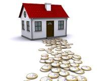 Methode zum Haus Lizenzfreie Stockbilder