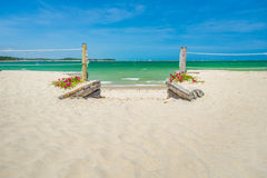 Methode zum Strand Lizenzfreie Stockfotografie