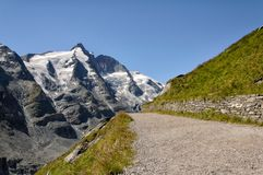 Methode zur Oberseite der Berge Lizenzfreie Stockfotos