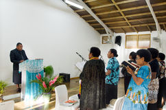 The Methodist Church Of Fiji and Rotuma in Rarotonga Cook Island Stock Images
