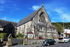 The Methodist Church, Grange-over-Sands, Cumbria Royalty Free Stock Photo