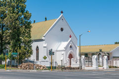 Methodist Church in Somerset West. CAPE TOWN, SOUTH AFRICA - DECEMBER 10, 2014:  Methodist Church in Somerset West near Cape Town Stock Images