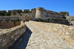 Methoni城堡,希腊 库存照片
