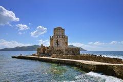Methoni castle Royalty Free Stock Photo