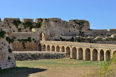 Methoni castle Stock Image