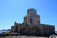 Methoni castle, Greece stock photo