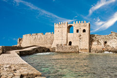 Methoni Venetian Fortress Stock Photo