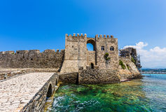 Methoni Venetian Fortress in the Peloponnese, Messenia, Greece. Royalty Free Stock Photography