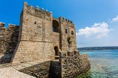 Methoni Venetian Fortress in the Peloponnese, Messenia, Greece. Stock Photo