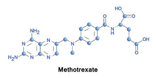 Methotrexate is a chemotherapy agent Royalty Free Stock Photography