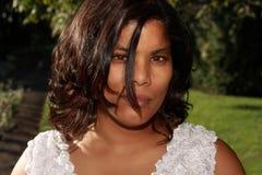 Metis woman Royalty Free Stock Photo