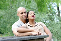 Metis young couple Stock Image