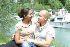 Metis young couple Royalty Free Stock Image
