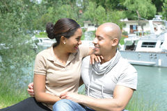 Metis young couple Stock Photo