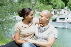 Metis young couple Royalty Free Stock Photo