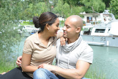 Metis young couple Royalty Free Stock Photography