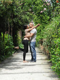 Metis young couple Stock Images