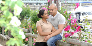 Metis young couple Stock Photography