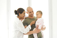 Metis young family Stock Photography