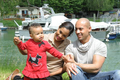 Metis young family Royalty Free Stock Photos